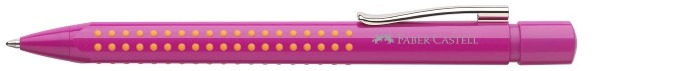 Faber-Castell Ballpoint pen, Grip 2010 series Pink-Orange