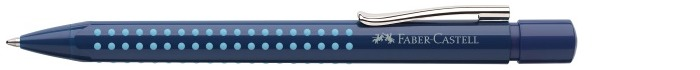 Faber-Castell Ballpoint pen, Grip 2010 series Dark blue-Light blue