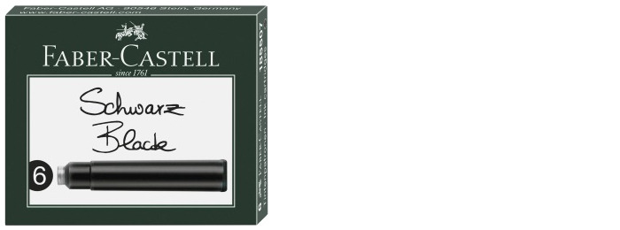 Faber-Castell Ink cartridge, Refill & ink series Black ink
