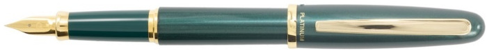Platinum Fountain pen, Balance series Green GT