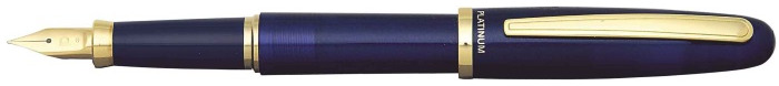Platinum Fountain pen, Balance series Blue GT