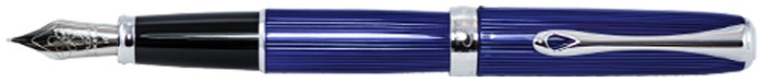 Diplomat Fountain pen, Excellence A² series Skyline blue CT