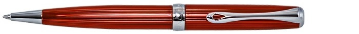 Diplomat Ballpoint pen, Excellence A² series Skyline red CT