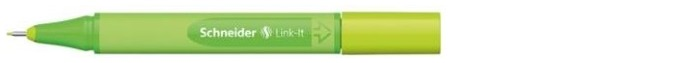 Schneider Felt pen, Link-It series Apple green ink (0.4mm)