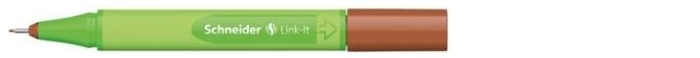 Schneider Felt pen, Link-It series Mahogany brown ink (0.4mm)