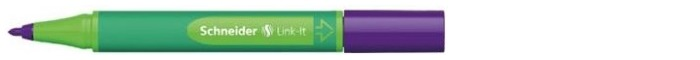 Schneider Felt pen, Link-It series Daytona violet ink (1.0mm)