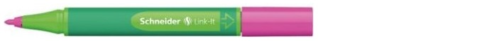 Crayon feutre Schneider, série Link-It Encre Fashion rose (1.0mm)