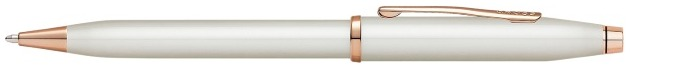 Cross Ballpoint pen, Century II series Pearlescent White PGT