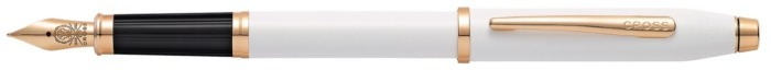 Cross Fountain pen, Century II series Pearlescent White PGT