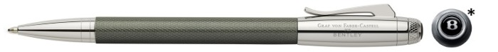 Faber-Castell, Graf von Ballpoint pen, Bentley Collection series Metallic gray
