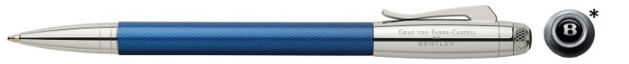 Faber-Castell, Graf von Ballpoint pen, Bentley Collection series Clear blue