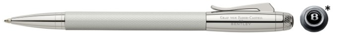 Faber-Castell, Graf von Ballpoint pen, Bentley Collection series Velvety white