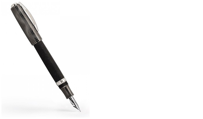 Visconti  Fountain pen, Homo Sapiens Evolution series Black (Oversize) (Nib Skeleton)