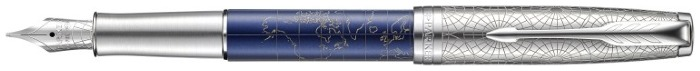 Parker Fountain pen, Sonnet Special Edition series Blue (Atlas)