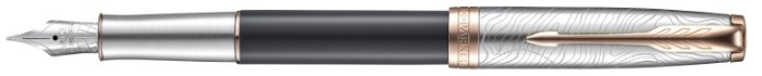 Parker Fountain pen, Sonnet Special Edition series Gray PGT (Stratum)
