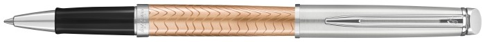 Waterman Roller ball, Hemisphere 2018 Deluxe series Pink/Brushed stainless steel
