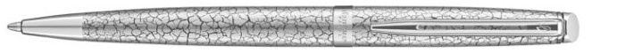 Waterman Ballpoint pen, Hemisphere 2018 Deluxe series Cracked Satin chrome