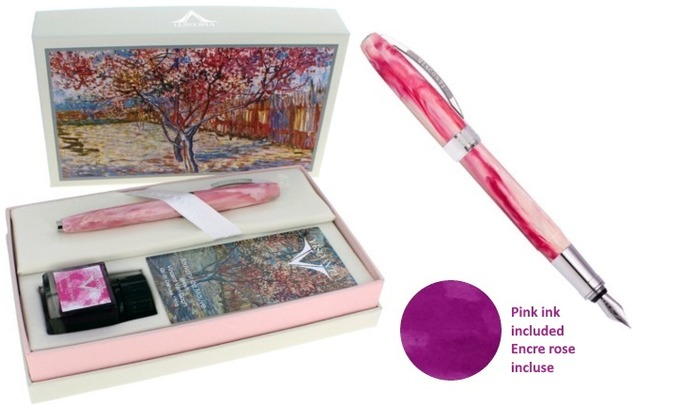 Visconti Fountain pen set, Van Gogh Impressionists series Souvenir de Mauve