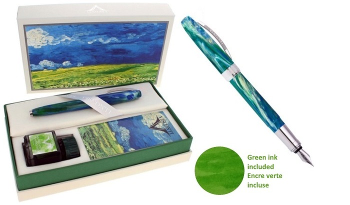 Visconti Fountain pen set, Van Gogh Impressionists series Wheatfield under Thunderclouds