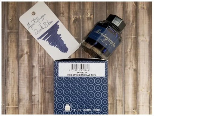 Montegrappa  Ink bottle, Refill & ink - Recharge & encre serie Blue-black ink