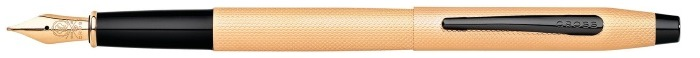 Cross Fountain pen, Classic Century series Brushed rose gold BKT