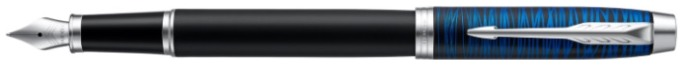 Parker Fountain pen, IM Special Edition series Black/Blue (Blue Origin)