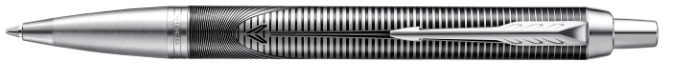 Parker Ballpoint pen, IM Special Edition series Black/Stainless steel (Metallic Pursuit)