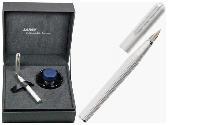 Lamy Fountain pen, Imporium LX series White CT