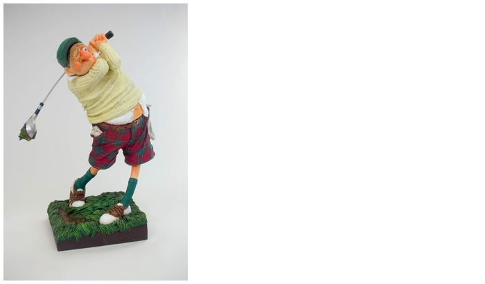 Forchino Figurine, The Professionals Special Edition series The Golfer