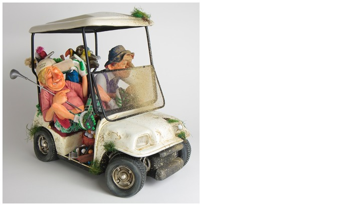 Forchino Figurine, The Vehicles series The Buggy Buddies