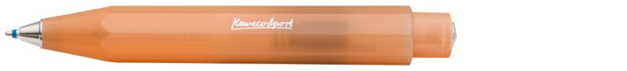 Kaweco Ballpoint pen, Frosted Sport series Translucent orange (Soft Mandarine)