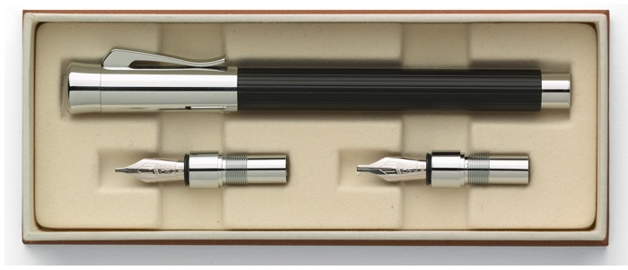Faber-Castell, Graf von Fountain pen set, Tamitio Calligraphy  series Black