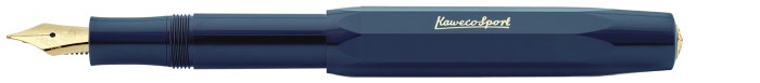 Kaweco Fountain pen, Classic Sport series Navy blue Gt