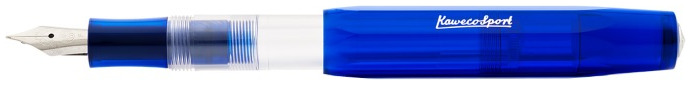 Kaweco Fountain pen, ICE Sport series Translucent blue