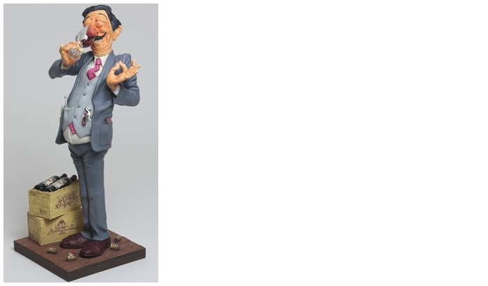 Forchino Figurine, The Professionals Special Edition series The Wine Taster