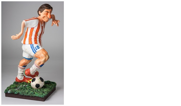 Forchino Figurine, The Professionals Special Edition series The Football Player