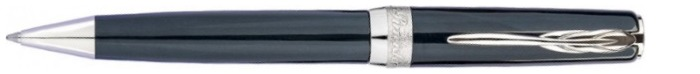 Pineider Ballpoint pen, La Grande Bellezza Gemstones series Gray