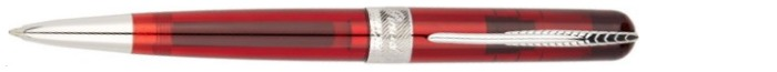 Pineider Ballpoint pen, Avatar UR Demo series Translucent Red