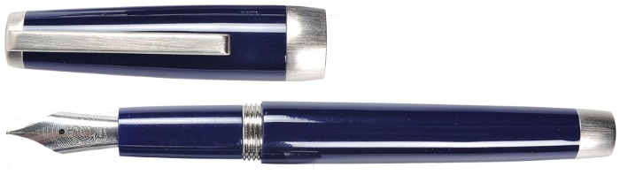 Jacques Herbin Fountain pen, Sloop series Blue CT
