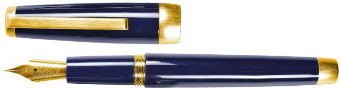 Jacques Herbin Fountain pen, Sloop series Blue GT