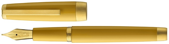 Jacques Herbin Fountain pen, Sloop series Amber GT