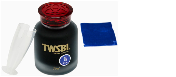 TWSBI Ink bottle, Inks 70ml series Sapphire blue ink