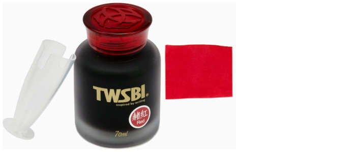 TWSBI Ink bottle, Inks 70ml series Red ink