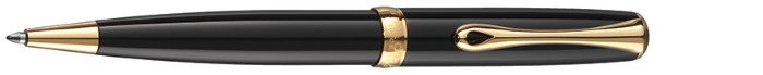 Diplomat Ballpoint pen, Excellence A² series Black GT