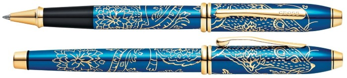 Cross Roller ball, Townsend 2020 Year of the Rat series Blue GT