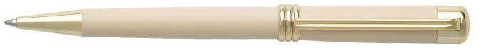 Nina Ricci Ballpoint pen, Boucle series Off-white GT (Nude)