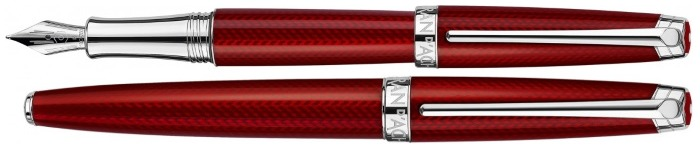 Caran d'Ache Fountain pen, Léman Rouge Carmin series