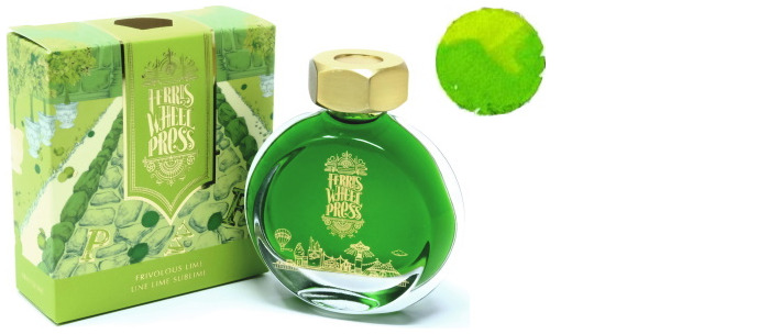 Bouteille d'encre Ferris Wheel Press, série Summer 2020 Collection Encre Une lime sublime- 38ml
