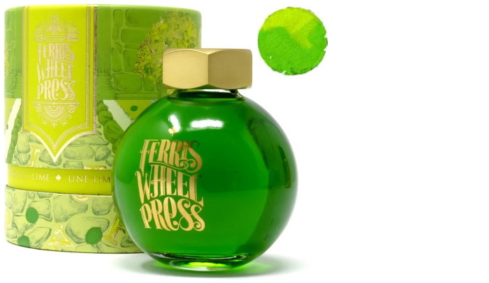 Bouteille d'encre Ferris Wheel Press, série Summer 2020 Collection Encre Une lime sublime- 85ml