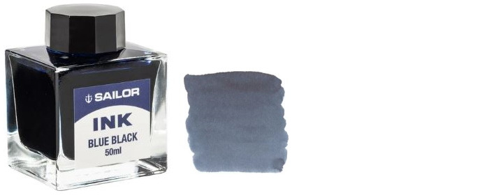 Sailor ink bottle, Refill & ink series Blue-black ink (50ml)